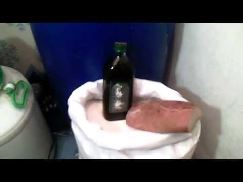Брага для самогона. Надежный рецепт.  Ржаной хлеб и оливковое масло.