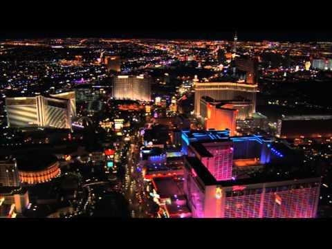 Las Vegas Strip At Night Helicopter Aerial Views Of Paris