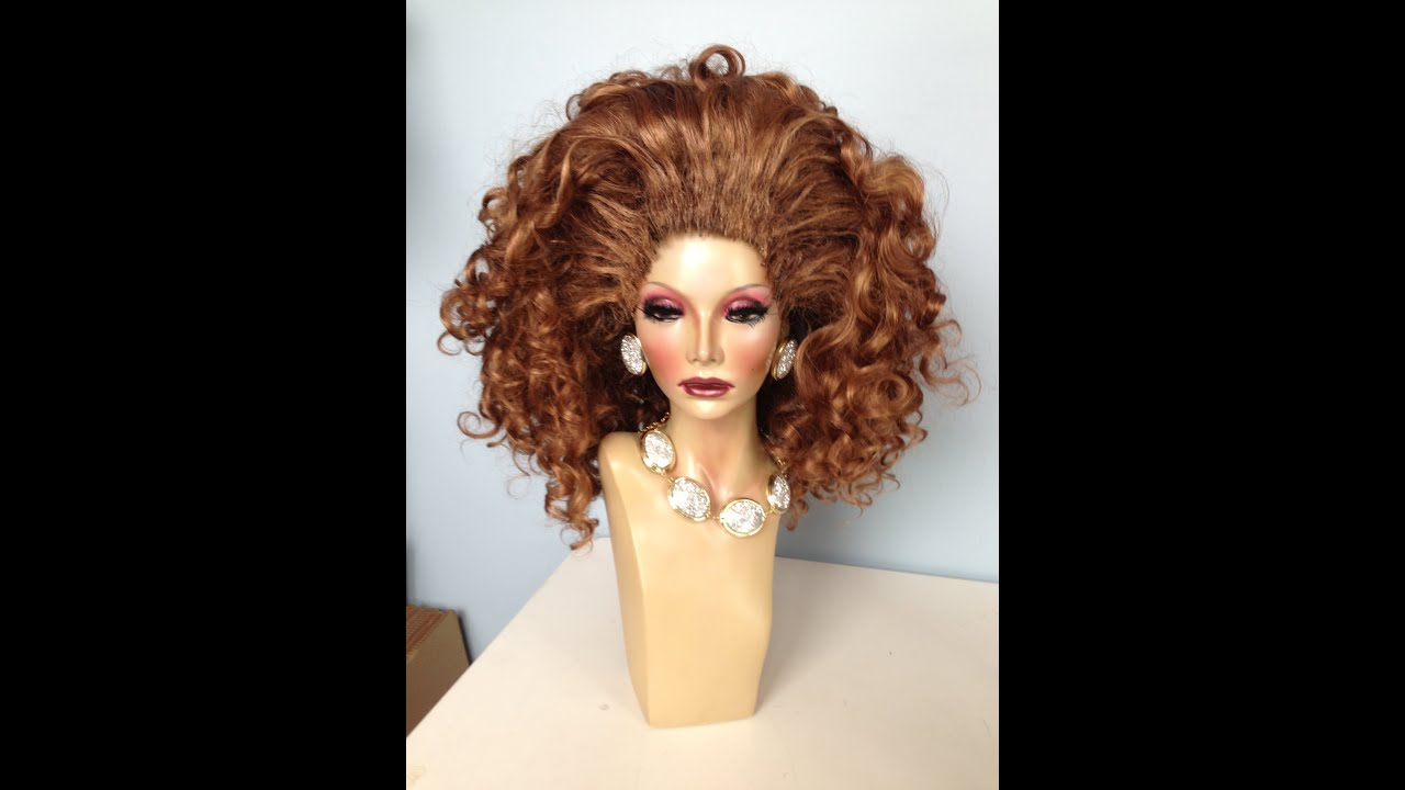 Tutorial How To Build HUGE Drag Hair And Rooted Wig Line