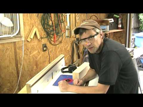 MM 3-30-12: Router table dust extraction test