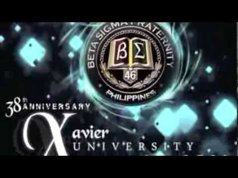 38th Anniversary chapter of Xavier University - Ateneo de Cagayan. BETA SIGMA