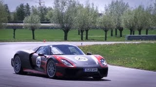 Driving the 887hp Porsche 918 Spyder - /CHRIS HARRIS ON CARS