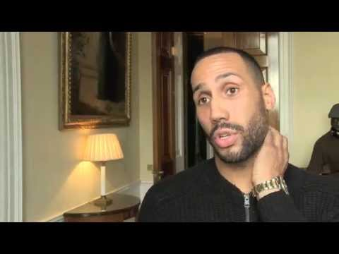 JAMES DeGALE - 'I ALWAYS SAID FROCH WOULDN'T FIGHT ME' / & BRANDS GERGE GROVES 'STUPID & DELUDED'