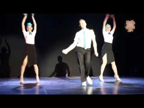 Выступление школы танцев Social Dance Studio на  SNA 2014