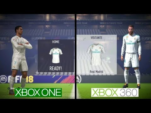 FIFA 18 | Xbox One VS Xbox 360 Graphics Comparison.