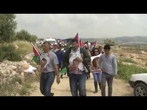 Palestinian Prisoner's Day, Bil'in, West Bank, 17.4.2015