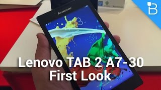 Lenovo TAB 2 A7-30 First Look: It's Actually a Huge Phone