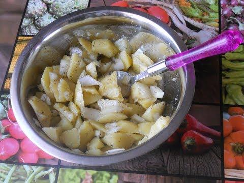 ✅Самый простой салат из картофеля