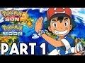 Pokemon Sun and Moon Gameplay Walkthrough Part 1 - FULL GAME 2+ HOURS!! (3DS Pokemon Sun Gameplay)