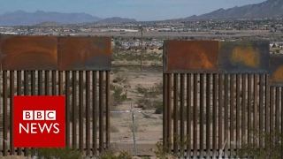 Mexican building US wall: It's a job - BBC News