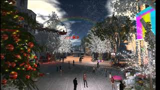 Seasons Greetings 2017 London City Second Life
