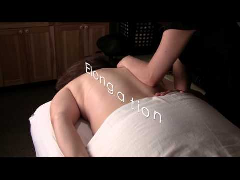 Elongation Massage - Royalty Free Massage Therapy Video #284