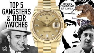 Top 5 Gangsters & Their Watches - Rolex, Patek Philippe, Hamilton & Bulova