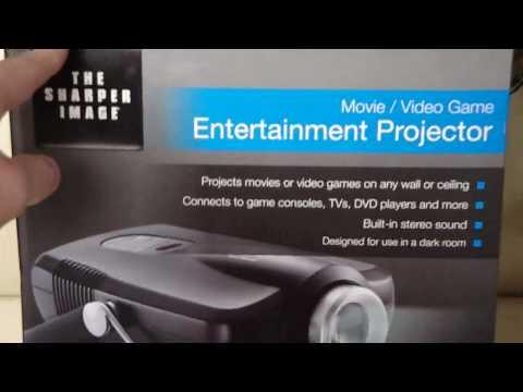 Sharper image movie projector