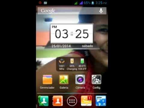 Novo aparelho Android Marca Meu An350