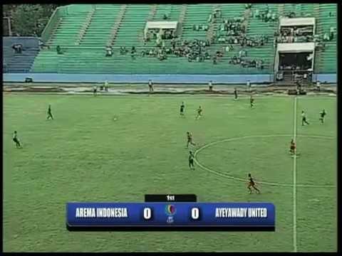 Arema Indonesia Vs Ayeyawady United - AFC Cup 2012