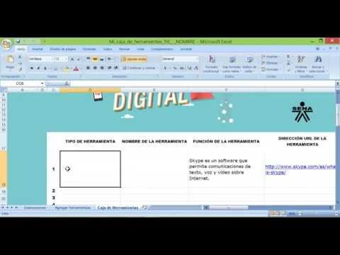 TUTORIAL ACTIVIDAD MI CAJA DE HERRAMIENTAS TIC