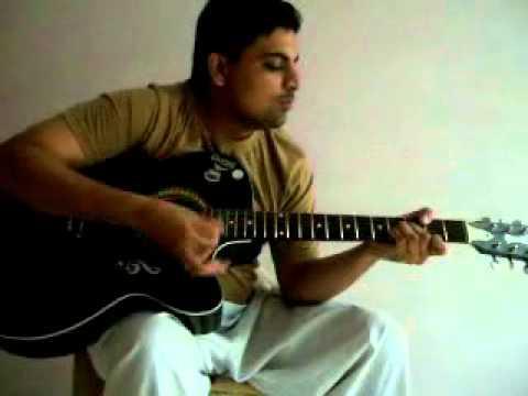 Musafir Hoon Yaaron on Guitar by Manish
