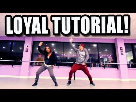 LOYAL - Chris Brown Dance TUTORIAL | @MattSteffanina & @DanaAlexaNY Choreography (Hip Hop)
