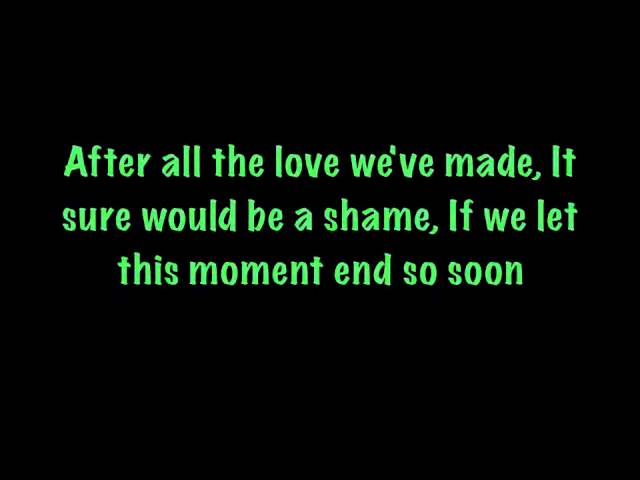 James Otto-Just Got Started Lovin' You (Lyrics)