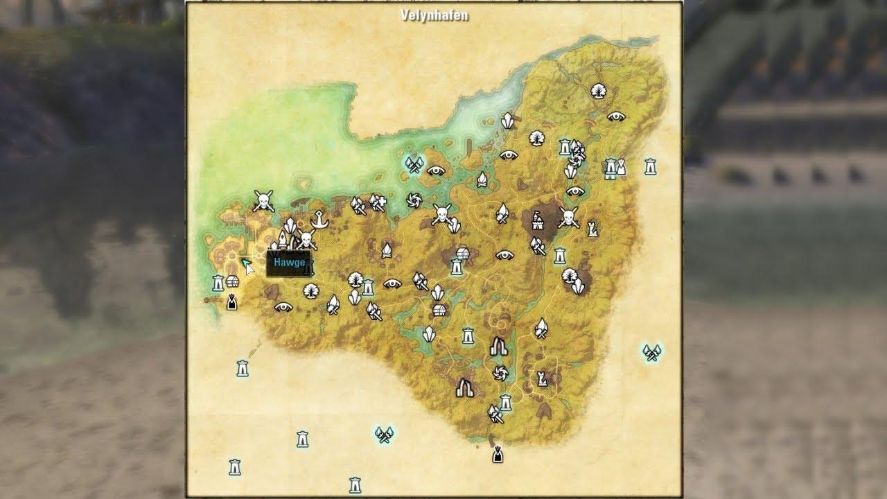 Treasure Map Malabal Tor