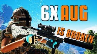 6X AUG Is Broken! | PUBG