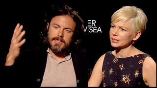 "Talking grief and depression with Casey Affleck and Michelle Williams for ""Manchester By The Sea"""