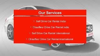 AVIS Best car rental provider in India