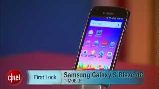 First Look Samsung Galaxy S Blaze 4G