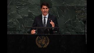 Канадский вестник 84: Трюдо заявляет об отправке солдат для акций ООН