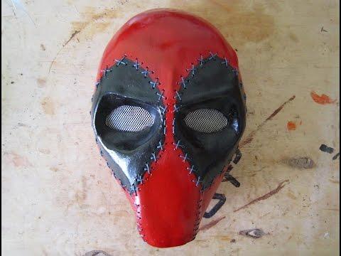 Как сделать маску дедпула
