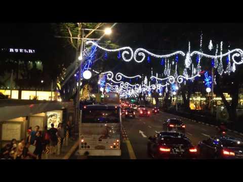 Karácsonyi fények: Szingapúr