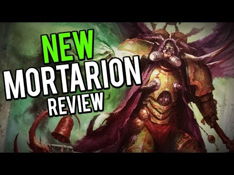 NEW Deathguard - Mortarion Review