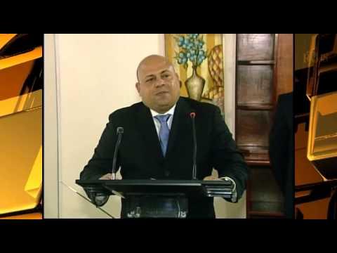 Installation Mr. Hadrian Cyril Woel comme nouveau Secrétaire d'État à la Sécurité Publique