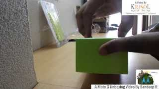 MOTO G 16GB Unboxing Video