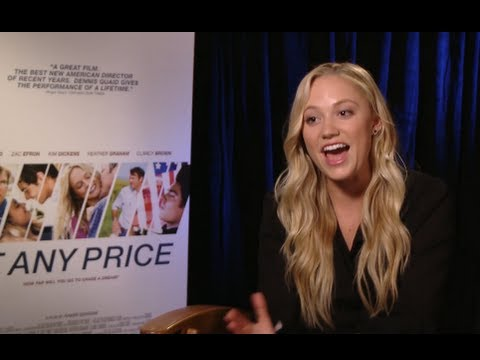 At Any Price Interviews - Dennis Quaid, Maika Monroe and Heather Graham!