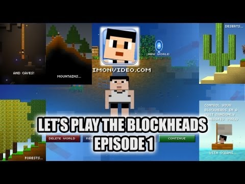 Let's Play The Blockheads - Episode 1