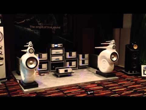 BAV 2013 Bangkok Show B&W Nautilus Classe Amps TARA LABS Cable Esoteric