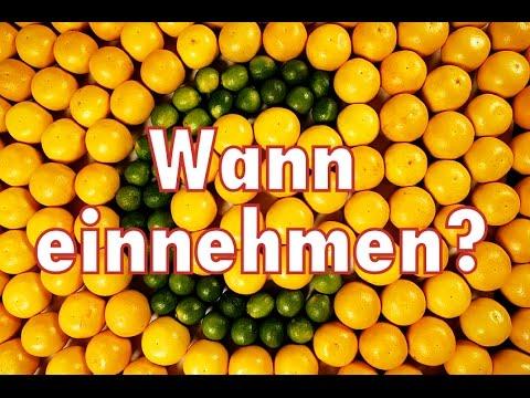 #SupplementTalk - Vitamin C / Wirkung & wichtige Infos zum Einnahmezeitpunkt!