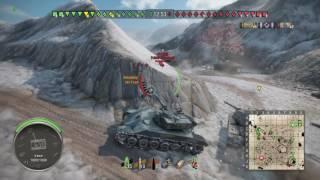 World of Tanks PS4 B-C25t 3kills 7k DMG