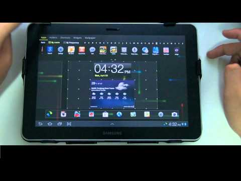 [GO Launcher HD] Best Android Launcher For Tablet Review