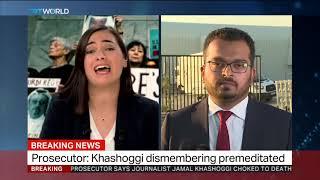 Khashoggi's body 'cut into pieces' after murder - Turkish prosecutor