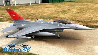 Freewing F-16 Super Scale 90mm EDF Jet Fighter At Bellaire RC Flyers Club