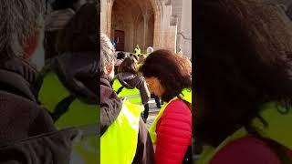 Gilets jaunes à Mende ! 1er Décembre 2018