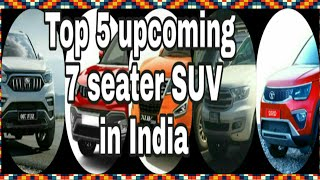 Top 5 upcoming 7 seater SUV in India | upcoming 7 seater cars in india | Chetan Tanwar