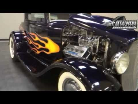 1932 Ford 3 window coupe for sale at Gateway Classic Cars in St. Louis