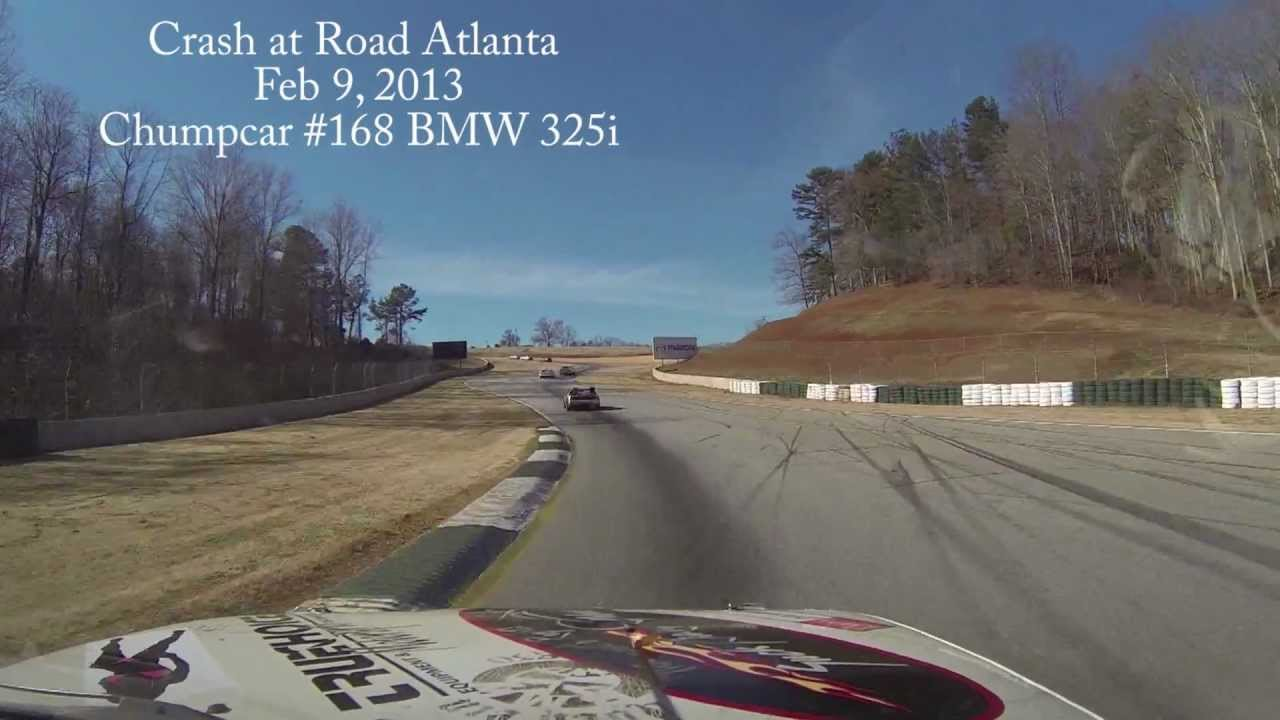 Road Atlanta Crash Crash at Road Atlanta Chumpcar