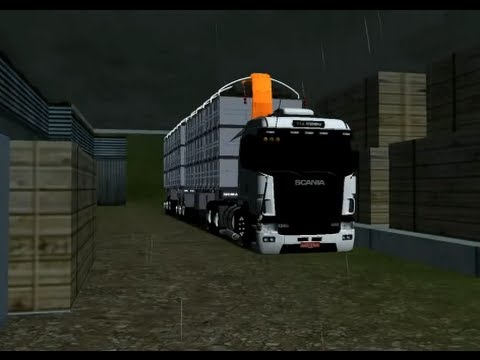18 Wheels of Steel Haulin Scania 124