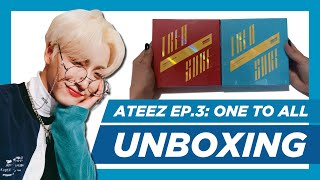 ✨[UNBOXING] ATEEZ -  Treasure Ep.3: One To All ~ WAVE & ILLUSION ver.) ✨