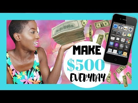 BEST WAY HOW TO Make QUICK Money Online VIDEO FAST, EASY, LEGIT WAY 2016 - Make $500 daily online